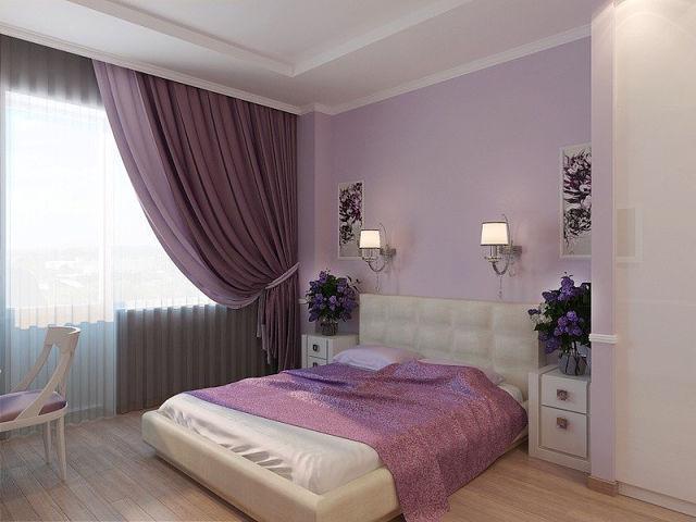 malíři praha - fialový pokoj